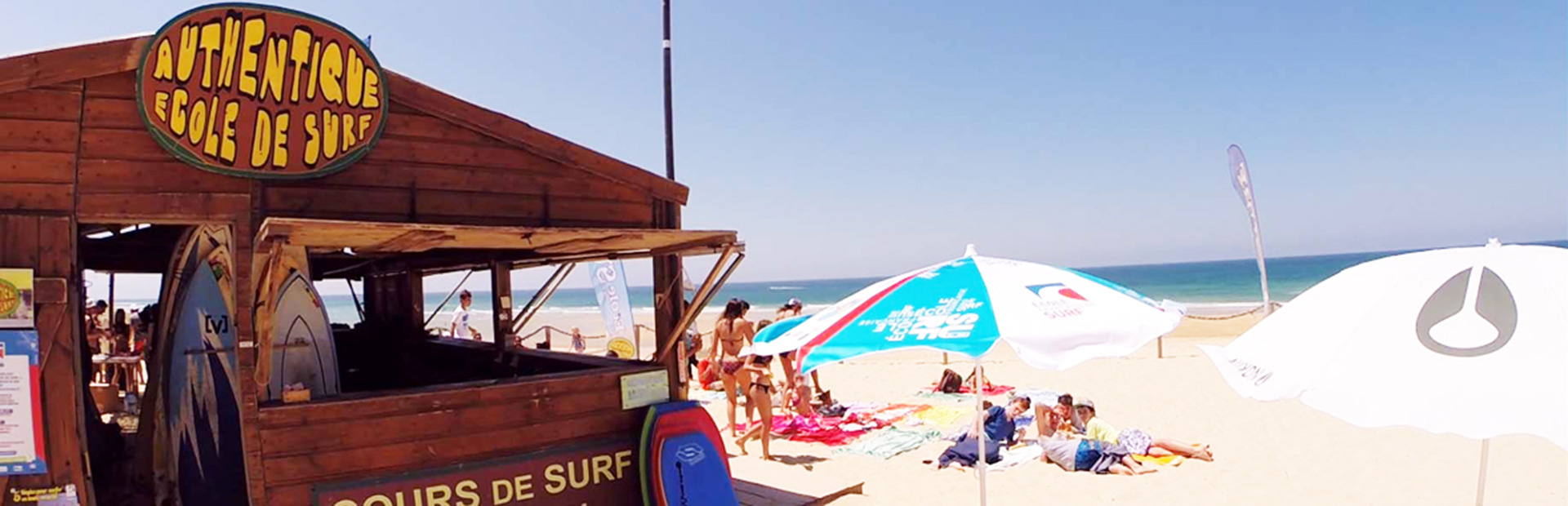 surfer school capbreton